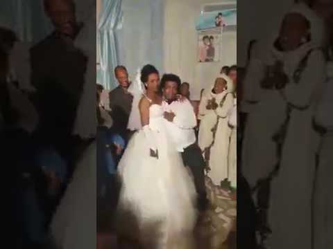 Ethiopian Wedding - Groom Funny Dance