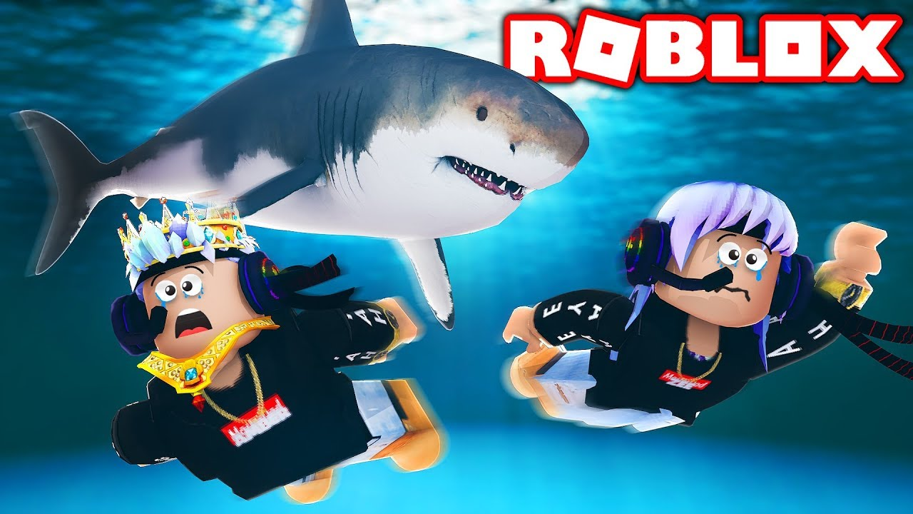 Gaming With Kev Youtube Roblox Shark Bite