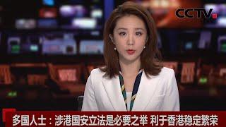 [中国新闻] 多国人士:涉港国安立法是必要之举 利于香港稳定繁荣 | CCTV中文国际
