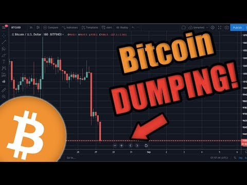 BREAKING: Bitcoin Dumping RIGHT NOW 😱 - Here's Why  [Just My Opinion]