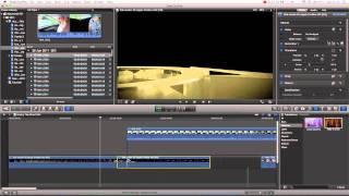 Final Cut Pro X Basics Tutorial Pt. 11 - Blade Tool / Splitting Clips