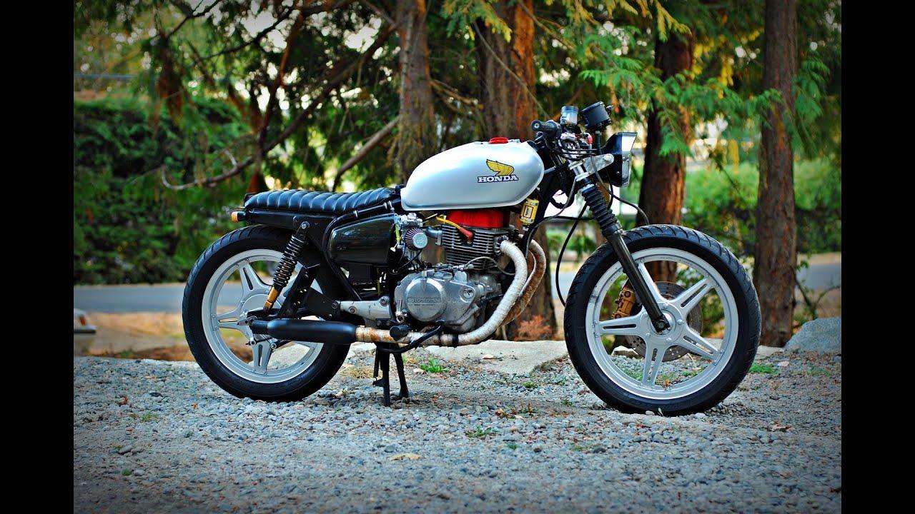 1979 Honda Cb400t Ii Single Carburetor Conversion Youtube