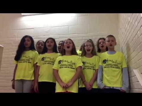Pleasant garden elementary performs the national anthem - Pleasant garden elementary school ...