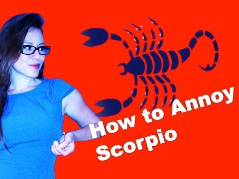 How to hurt a scorpio man