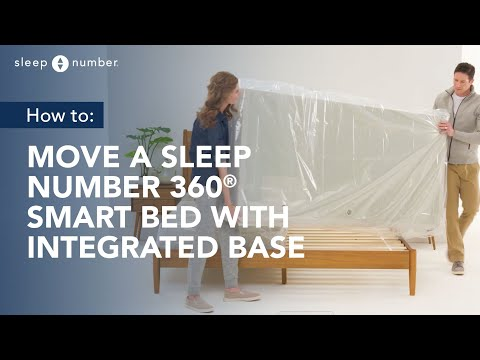 How To Move a Sleep Number 360® Smart Bed With Integrated Base