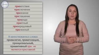 Русский 5 Приставки ПРЕ  и ПРИ