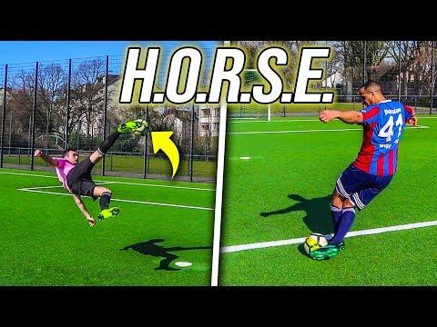 ULTIMATIVE HORSE FUßBALL CHALLENGE !