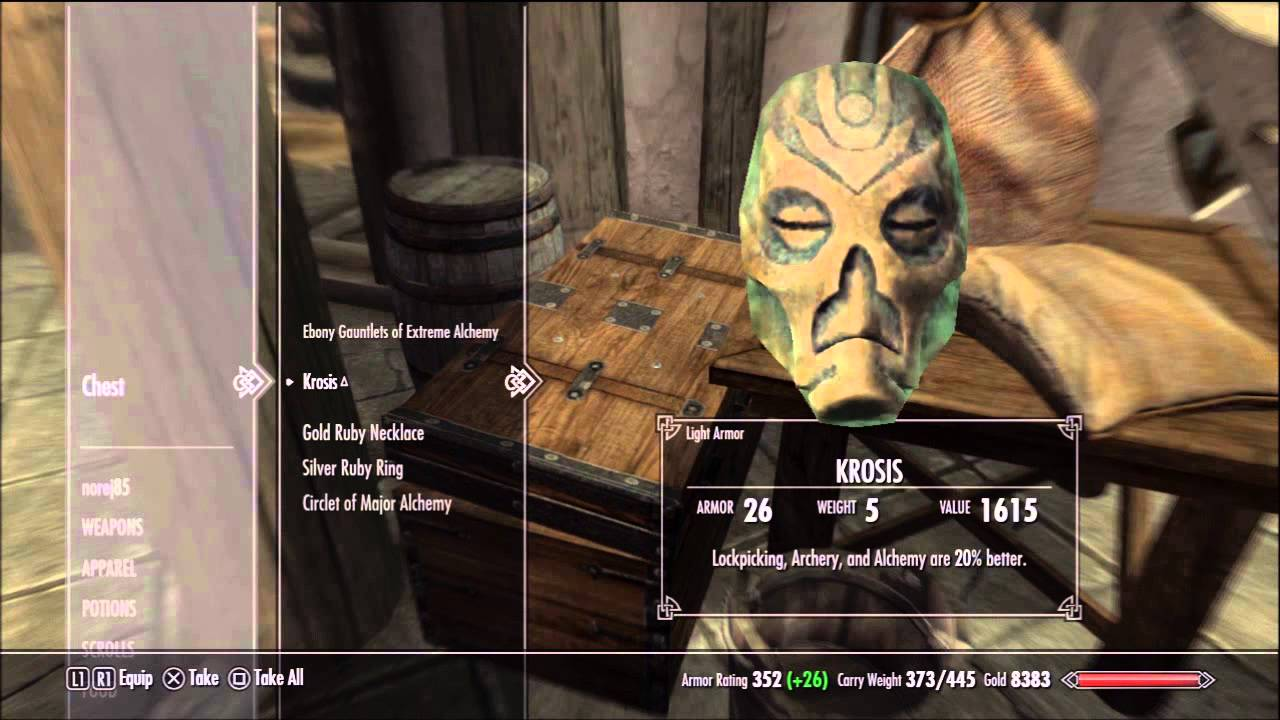 Elder Scrolls 5 Skyrim Alchemy Guide Potions Poisons Youtube