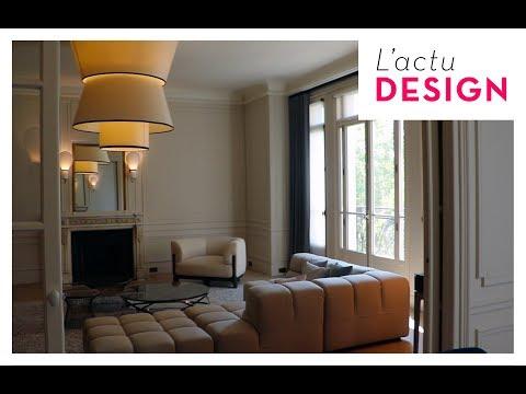 Rinck rénove et habille un appartement parisien d'exception