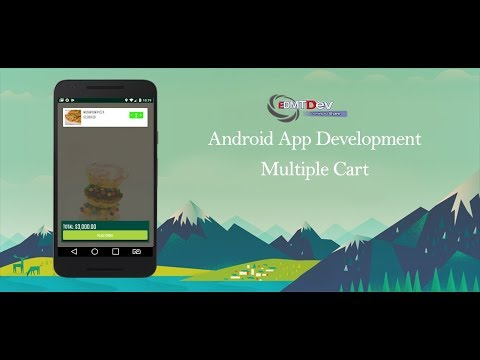 Android Development Tutorial - Order Food App Part 50 Multiple Cart for User