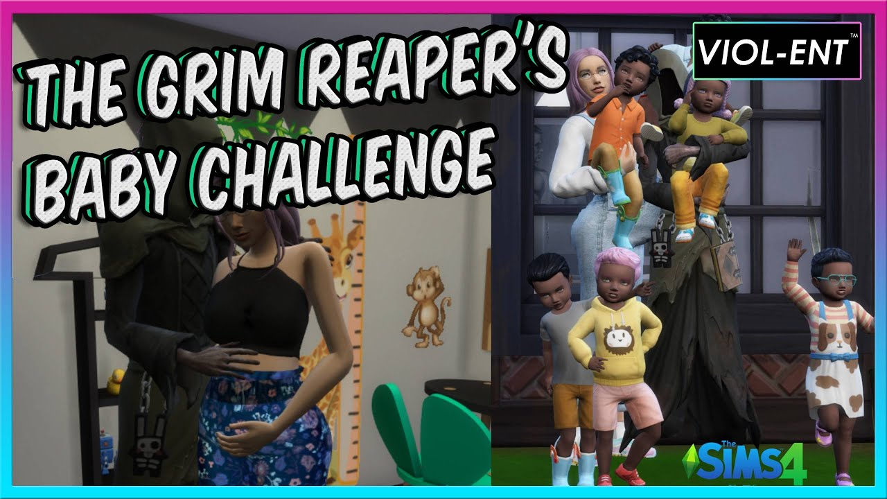 THE GRIM REAPER'S BABY CHALLENGE | The Sims 4 Challenge By SimmrDown
