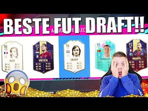 BESTE & DUURSTE FUT DRAFT ALLER TIJDEN!! FIFA 19 NEDERLANDS