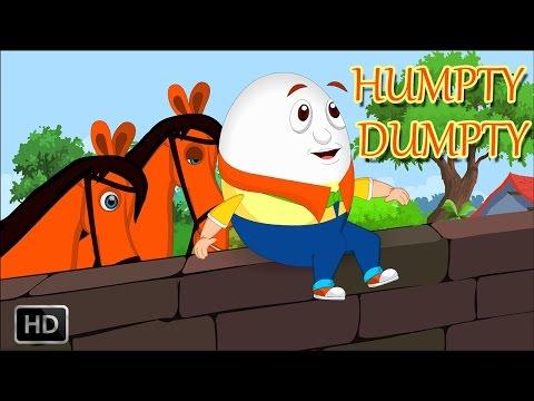 Humpty Dumpty Sat on a Wall with Lyrics - Baby Songs