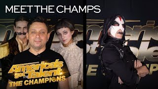 Miki Dark and Freckled Sky Are Ready To SURPRISE You! - America's Got Talent: The Champions