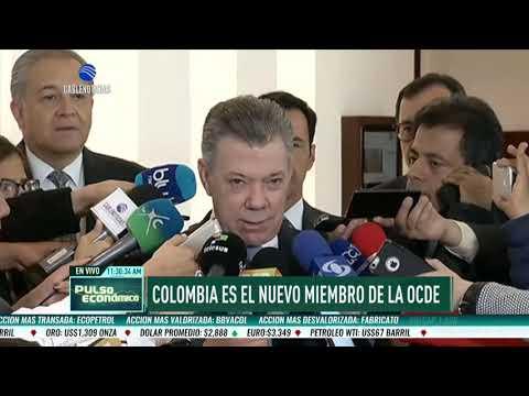 Colombia fue admitida como nuevo miembro de la Ocde