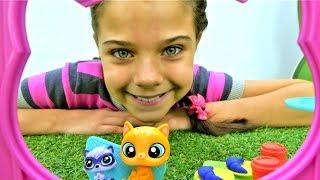 Игры для девочек LPS. Мультик Маленький зоомагазин - игрушки