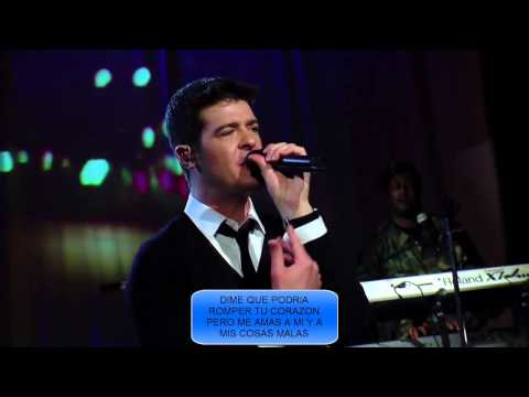 ROBIN THIKE LOST WITHOUT YOU SUBTITULADO ESPAÑOL HD mp4