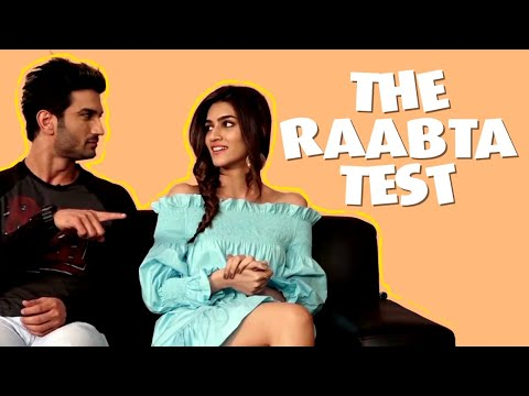 Thumbnail: RAPID FIRE | Sushant Singh Rajput and Kriti Sanon decode their real life 'Raabta'