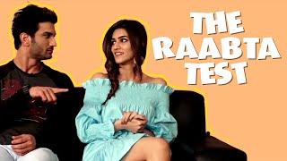 RAPID FIRE | Sushant Singh Rajput and Kriti Sanon decode their real life 'Raabta'