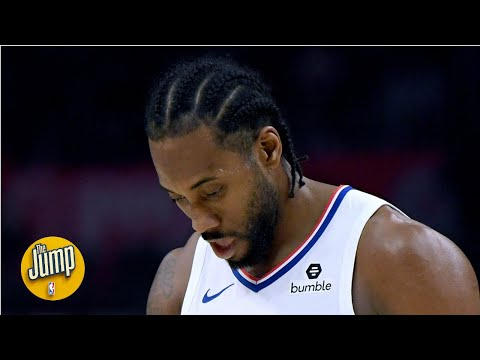 'Kawhi didn't look like himself': Tracy McGrady noticed the injury in Clippers-Rockets | The Jump