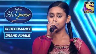 Debanjana's Soulful Presentation Of 'Ab Toh Hai Tumse' | Indian Idol Junior | Grand Finale