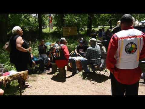 Ramapough Lunaape  Spirit of the Mountain Drum