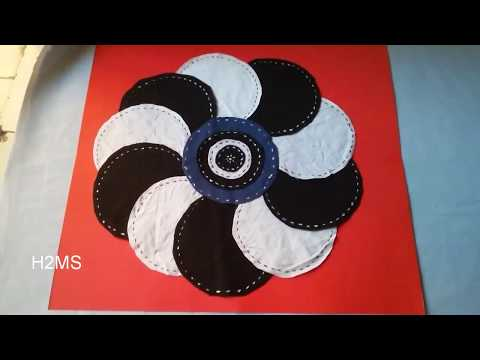 DIY doormat ideas, How to make simple and easy door mat at home, recycling ideas from old T-shirts