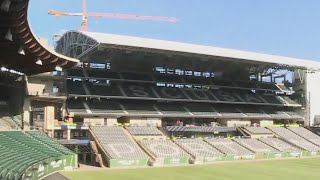 What's new at Providence Park? Take a look
