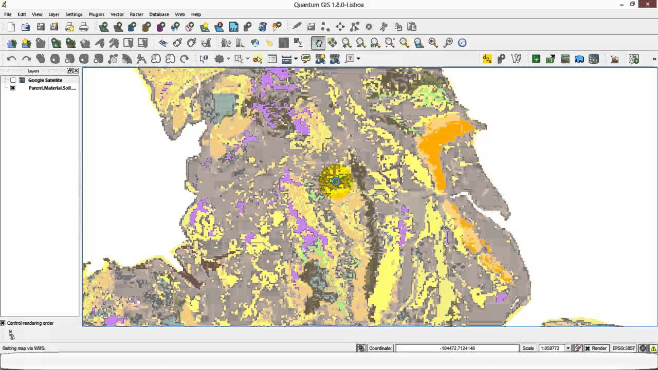 Web Map Service WMS With QGIS YouTube – Map Service