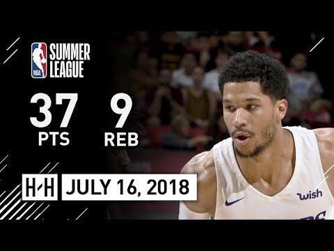 Josh Hart Full Highlights vs Cavaliers (2018.07.16) NBA Summer League - 37 Pts, 9 Reb