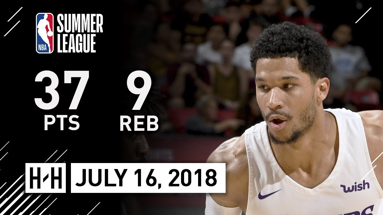 257f1160a021 Josh Hart Full Highlights vs Cavaliers (2018.07.16) NBA Summer League - 37  Pts