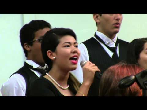 """Coral Springs Christian Academy Chorus sings """"Cornerstone"""" by Shawn Kirchner CSCA FPC"""