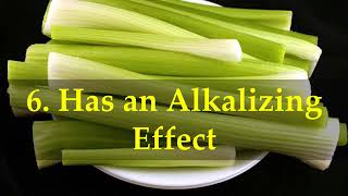 Health Benefits in Just One Celery Stalk