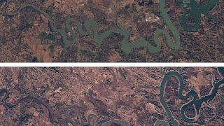 Día Mundial del Agua: la dura vida de los pantanos españoles, desde el espacio