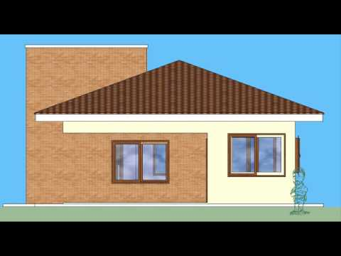 Arquitetando desenho arquitet nico fachadas youtube - Como pintar fachadas de casas ...