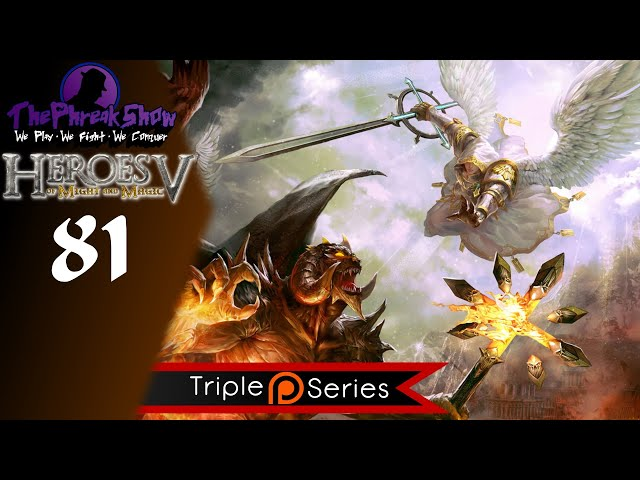 Let's Play Heroes Of Might & Magic V - Part 81 - Not A Great Start!
