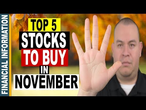 5 Stocks to BUY in NOVEMBER 2017 📈   Top 5 Stocks to WATCH🔎 INVEST📊or TRADE📈