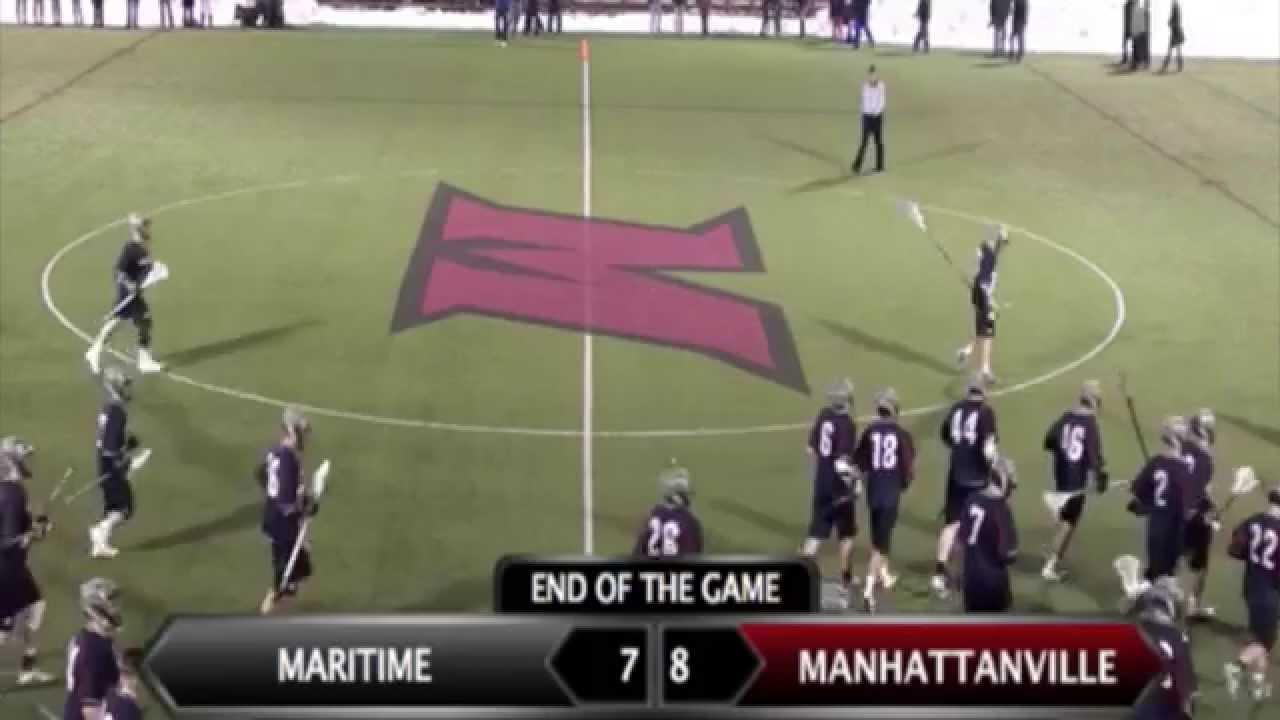 Manhattanville Men's Lacrosse Highlights Vs. Maritime ...