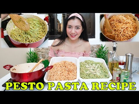 Chicken & Tuna Pesto Spaghetti Recipe