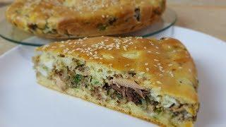 Заливной Рыбный 🐟🥧 Пирог, цыганка готовит. Gipsy cuisine.