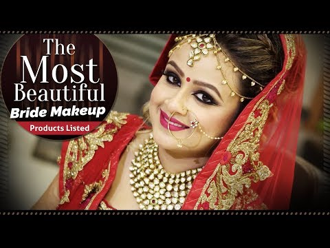 Most Beautiful Bridal Makeup Tutorial Video