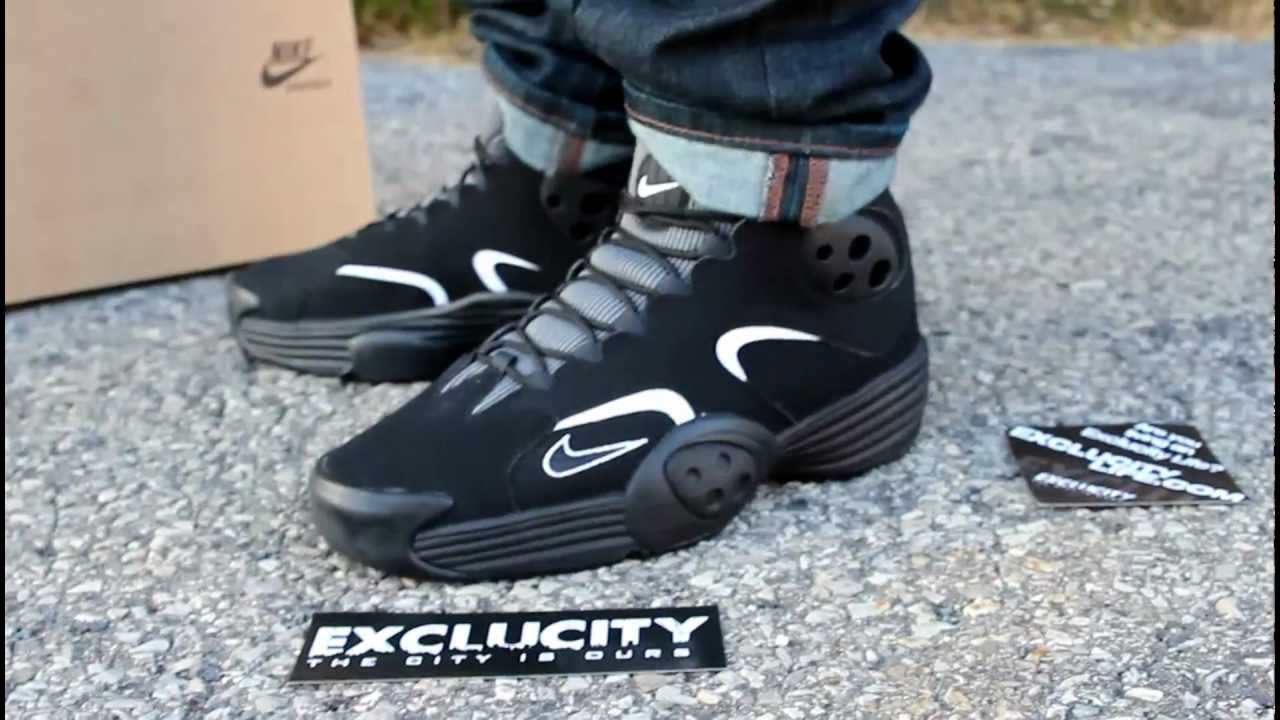 wholesale dealer 8604c d7a4a Nike Flight One Black On feet Video at Exclucity - YouTube