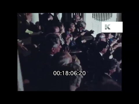 1970s Audience Clapping, Theatre, Opera, Applause