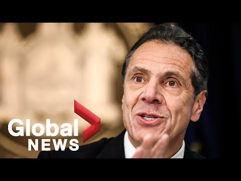 New York Governor Andrew Cuomo sworn in for his third term