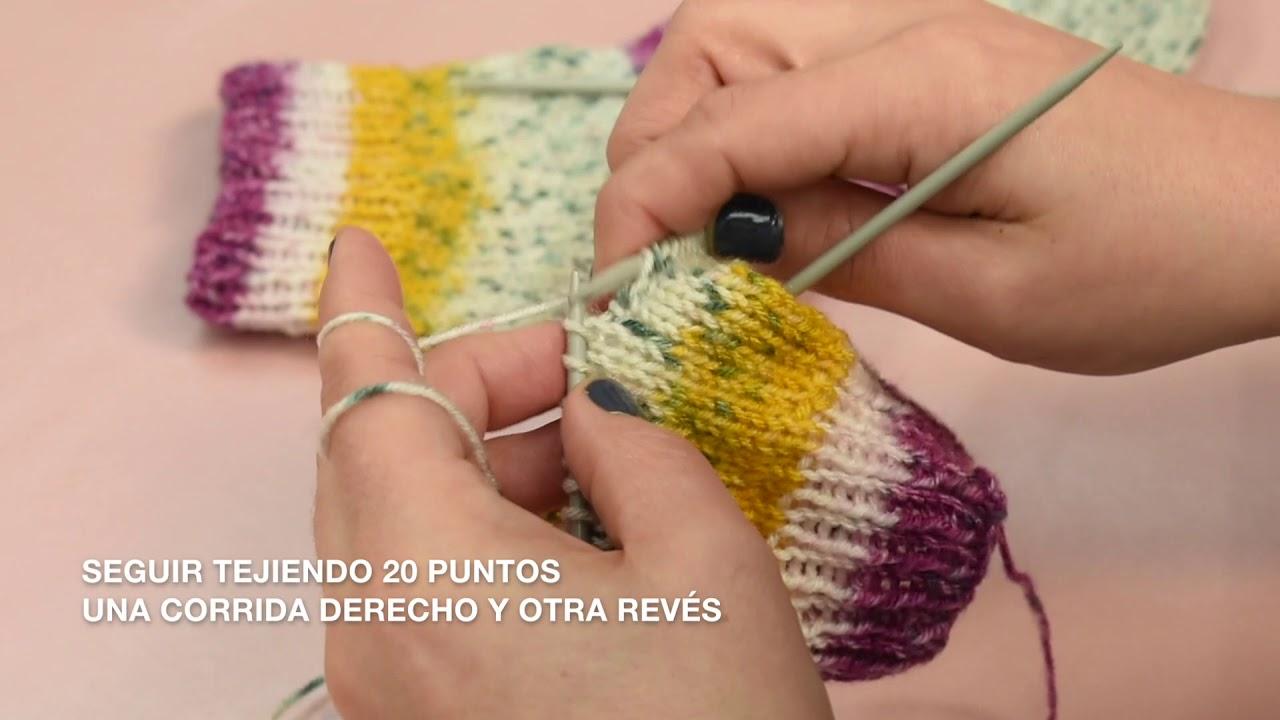 Download Cómo tejer calcetines con 5 agujas