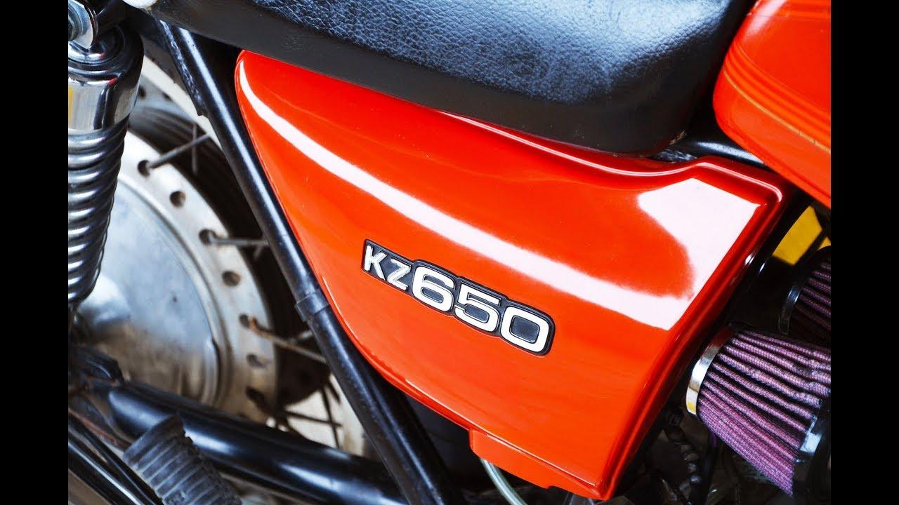 No Reserve: 1978 Kawasaki KZ650-B2