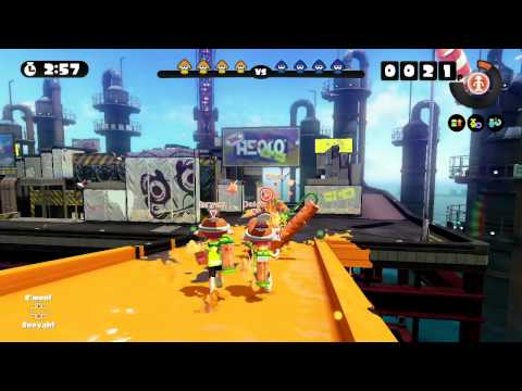 Splatoon Global Testfire #25 - Splattershot at Saltspray Rig