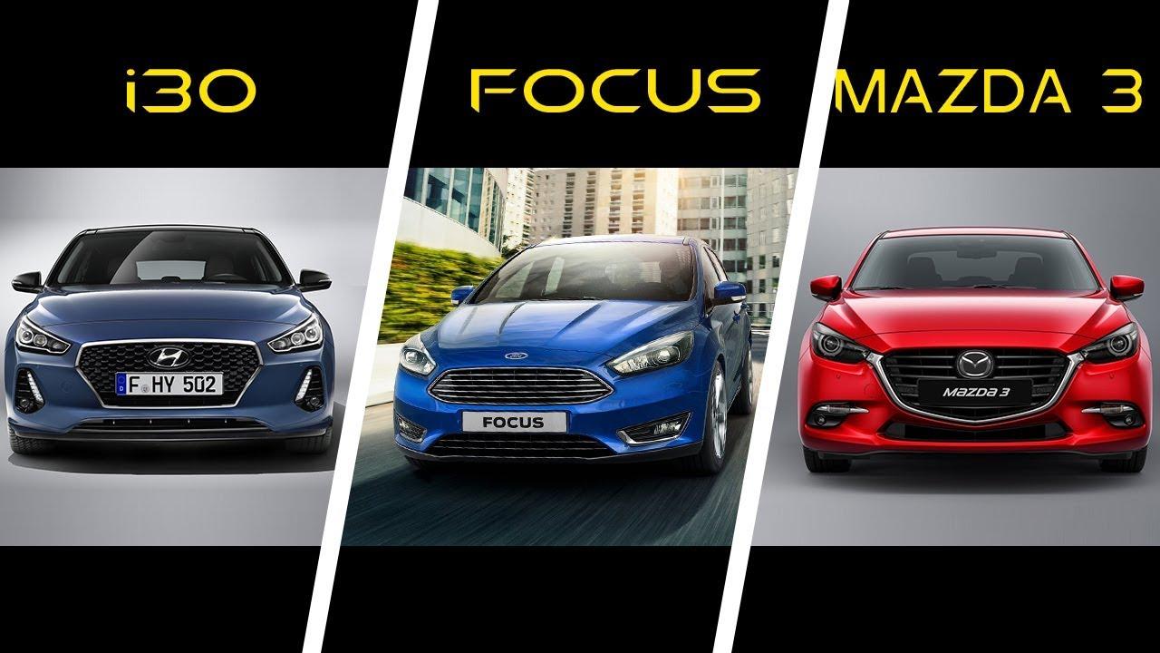hyundai i30 vs ford focus 3