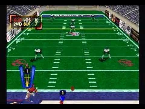 Kurt Warner's Arena Football Unleashed Gameplay Footage (PS1)