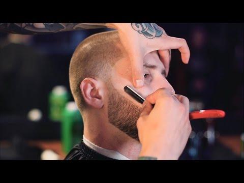 Мастер класс по стрижке  и оформлению бороды(маска после бритья ,загуститель для волос Toppik )